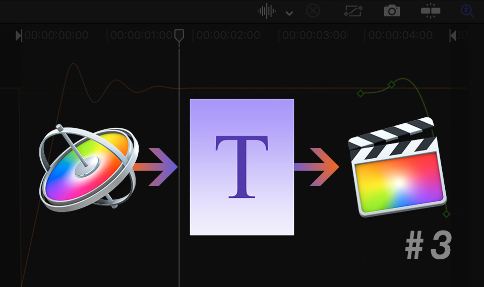 Title template for FCP in Apple Motion (Part three)