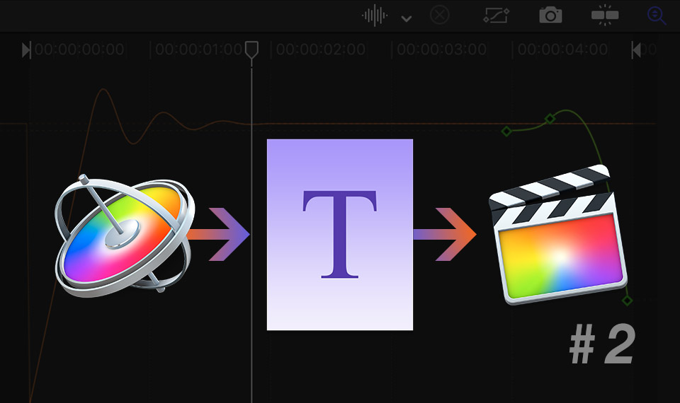 Title template for FCPX in Apple Motion (part 2)