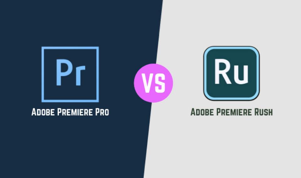 Adobe Rush vs Adobe Premiere