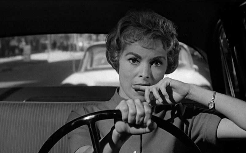 """Psycho"" is one of the most famous Hitchcock's films."