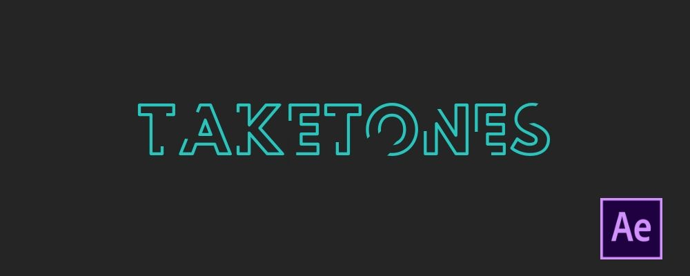How to Animate Text Using Stroke Effect in Adobe After Effects