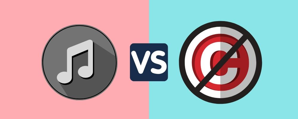 Commercial vs No Copyright music: Use, Difference, and Insights