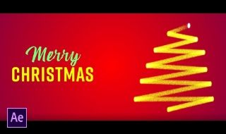 How to Create Christmas Tree Animation in Adobe After Effects